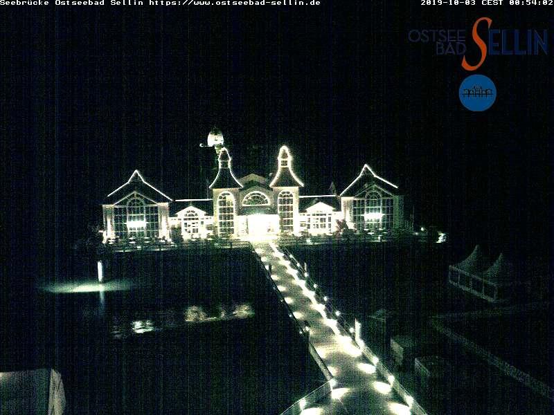 Seebrücke Sellin - Webcam: Ostseebad Sellin